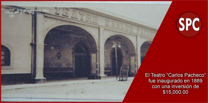 Teatro Carlos Pacheco SPC