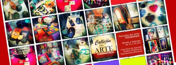 Callejón del arte Cuernavaca